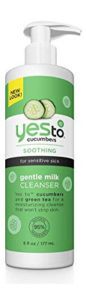 Yes to Cucumbers Soothing Gentle Milk Face Cleanser