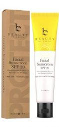 Face Sunscreen SPF 20 by Beauty by Earth