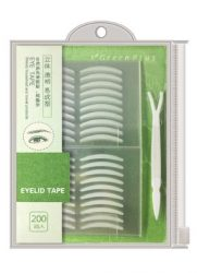 Zmbeauty 400Pcs natural Invisible Single Side Eyelid Tape